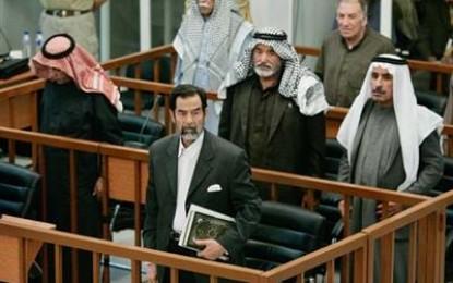 تأجيل محاكمة صدام الى التاسع من الشهر المقبل